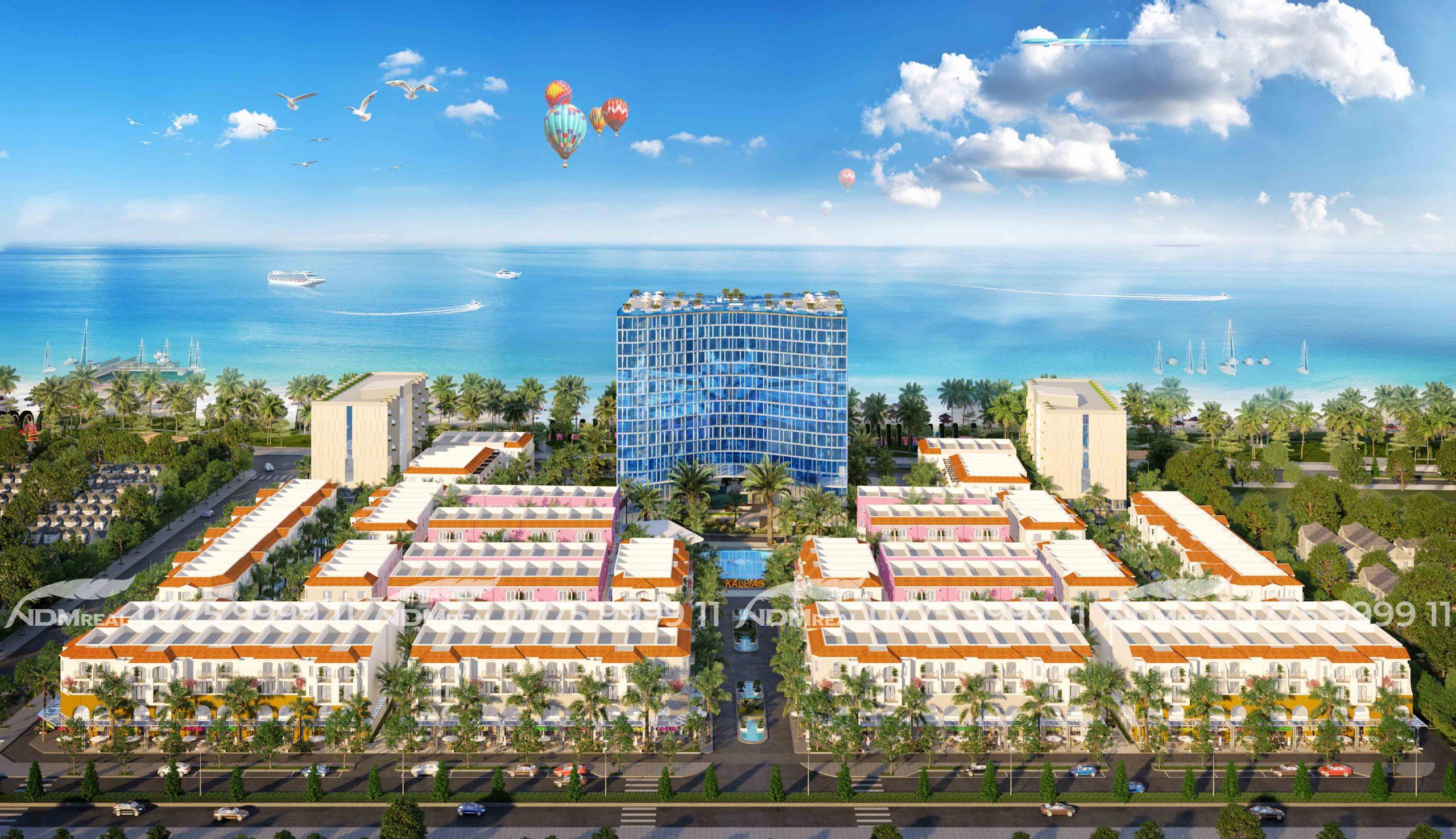 Kallias Complex City - Bất động sản nghỉ dưỡng Phú Yên