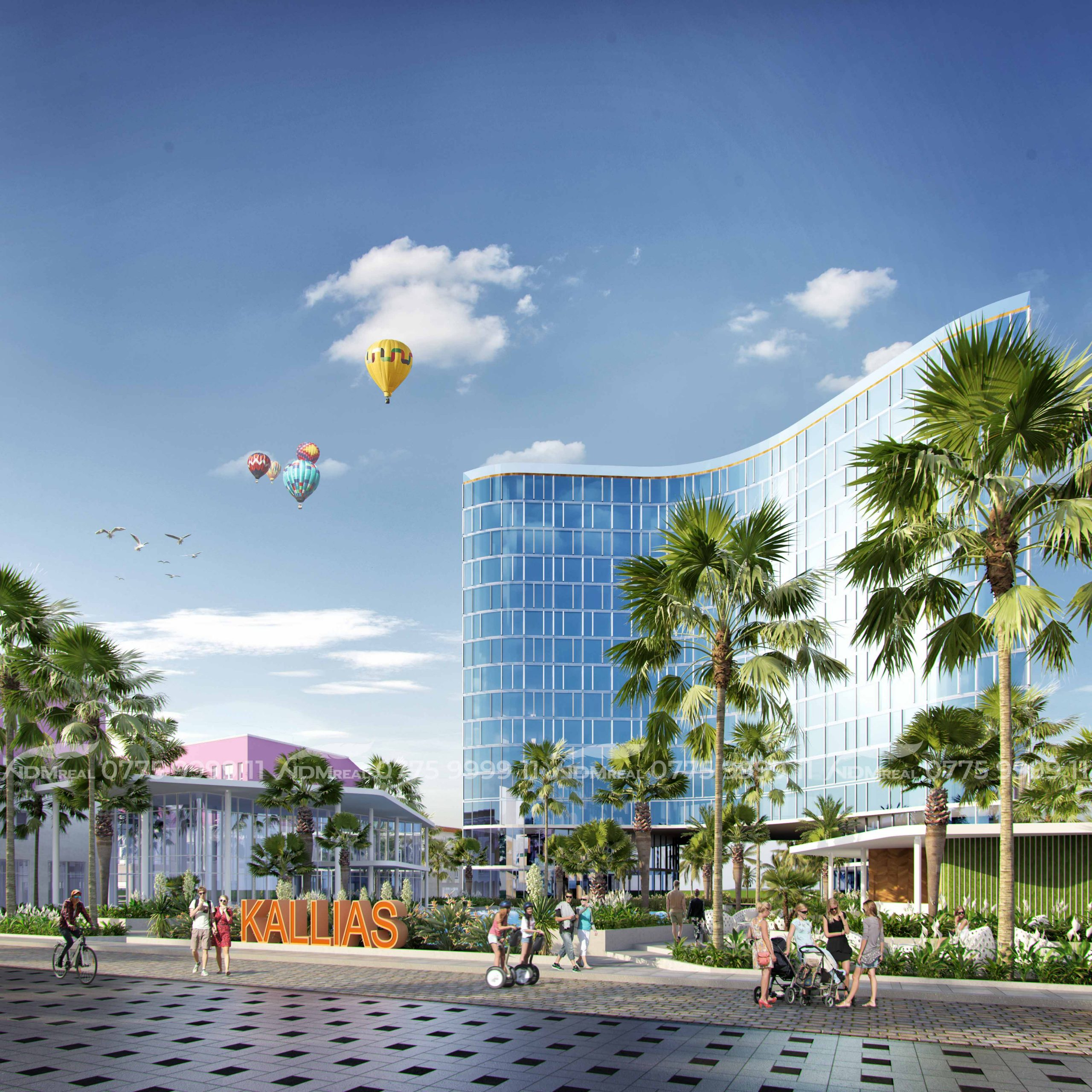 Dự án Kallias Complex City - Nghỉ dưỡng ven biển Phú Yên