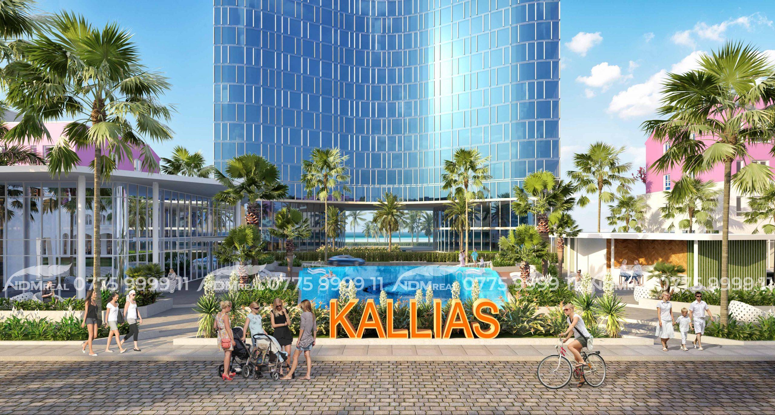 Kallias Complex City - Nghỉ dưỡng ven biển Tuy hoà Phú Yên
